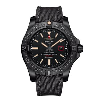 Breitling Avenger Blackbird 44 men's titanium strap watch - Product number 3518442