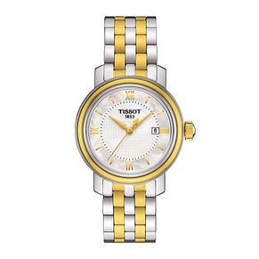 Tissot Bridgeport ladies' two colour mother of pearl watch - Product number 3518698