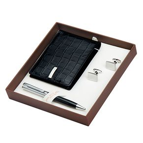 Jos Von Arx Wallet, Cufflinks and Pen Gift Set - Product number 3520803