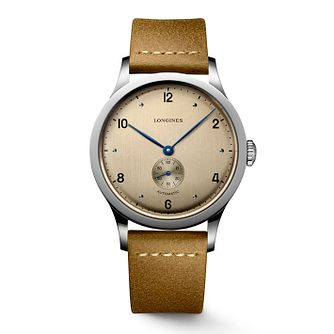 Longines Heritage 1945 Men's Brown Strap Watch - Product number 3530248