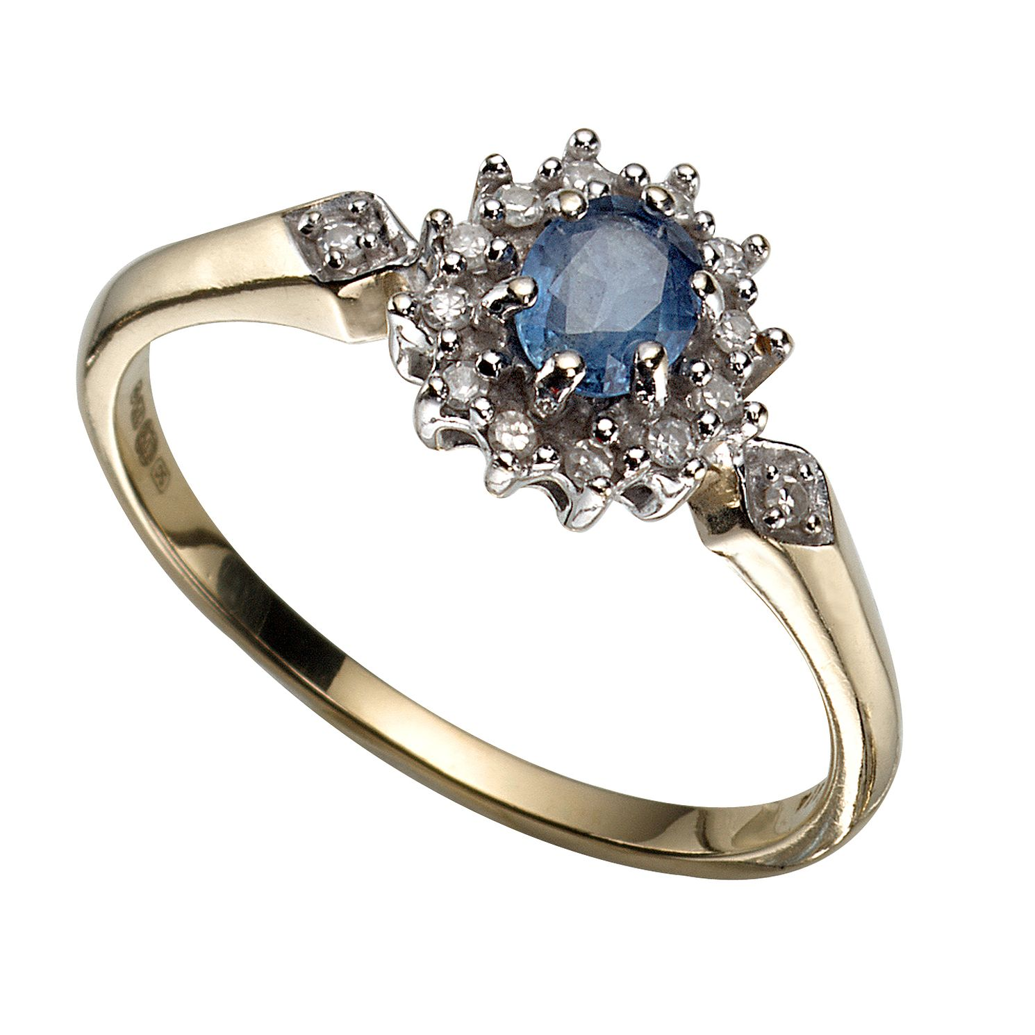 white ring and size full rings saffire sapphire zirconia ie cubic gold fields created