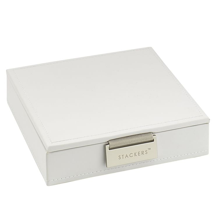 Stackers White Charm Lidded Stacker Jewellery Box - Product number 3542807