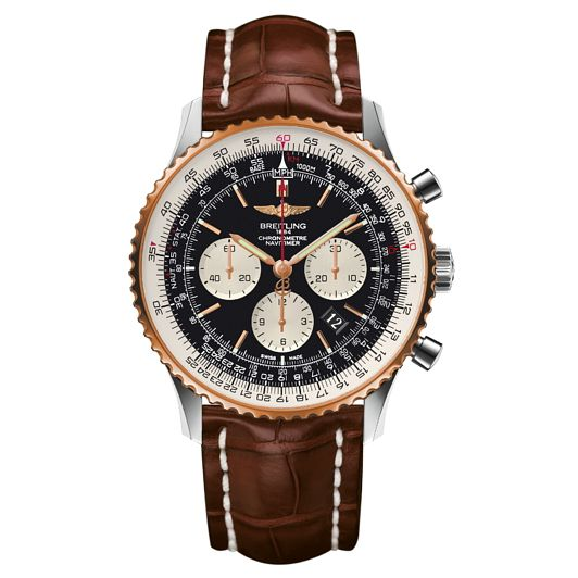 Breitling Navitimer 01 46 men's two colour strap watch - Product number 3549801