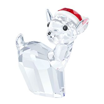 Swarovski Doe With Santa Hat Figurine - Product number 3557693
