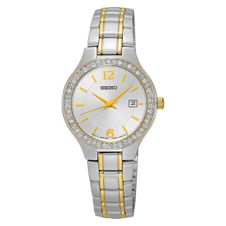 Seiko Ladies' Two Colour Stainless Steel Bracelet Watch - Product number 3562786