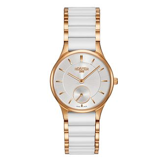 Roamer Ceraline Saphira Ladies' Two Colour Bracelet Watch - Product number 3564460