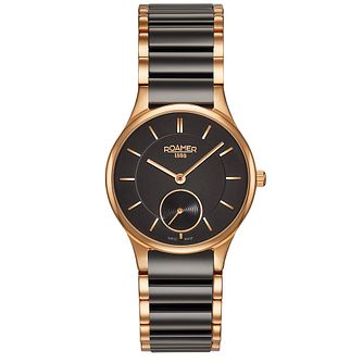 Roamer Ceraline Saphira Ladies' Gold-plated Bracelet Watch - Product number 3564495