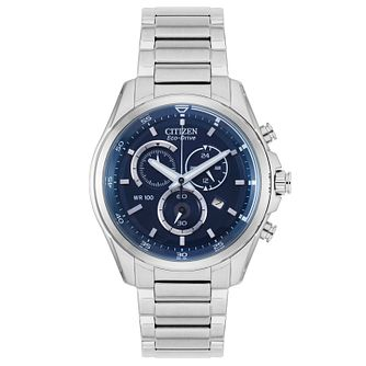 Citizen Eco-Drive Men's Stainless Steel Bracelet Watch - Product number 3565920