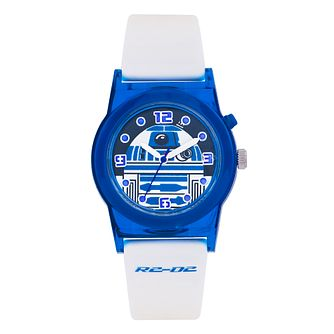 Star Wars R2-D2 Children's White Strap Watch - Product number 3566072