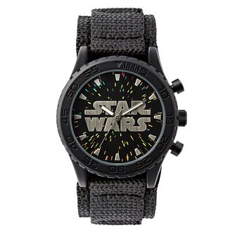 Star Wars Logo Children's Velcro Watch - Product number 3566080