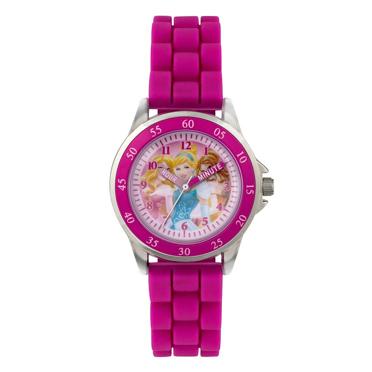 Children's Disney Princess Time Teacher Pink Strap Watch - Product number 3566226