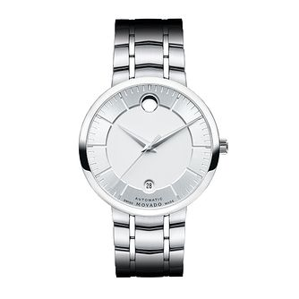 Movado 1881 men's stainless steel silver dial bracelet watch - Product number 3572048