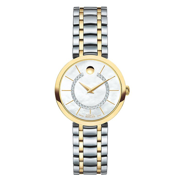 Movado 1881 ladies' mother of pearl bracelet watch - Product number 3572331