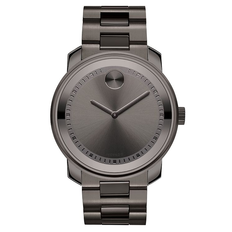 Movado Bold TR90 men's grey PVD bracelet watch - Product number 3573508