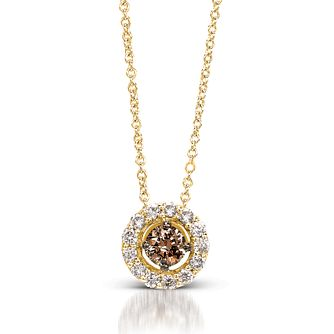Le Vian 14ct Honey Gold Chocolate Diamond Pendant - Product number 3574024