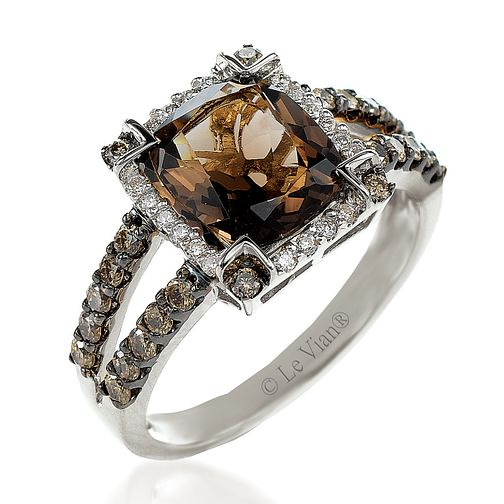 Le Vian 14ct Vanilla Gold diamond & quartz ring - Product number 3574814