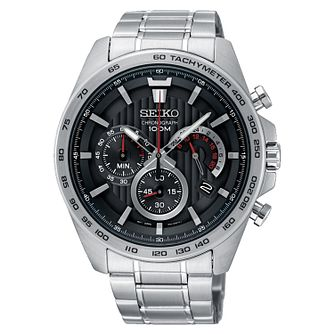 Seiko Men's Stainless Steel Bracelet Chronograph Watch - Product number 3575896