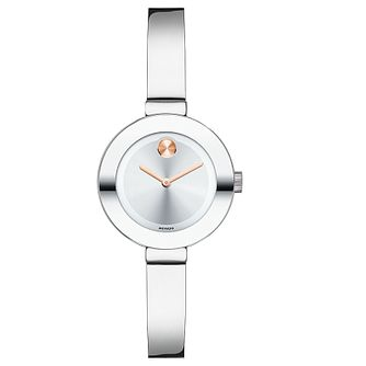 Movado Bold ladies' stainless steel bangle bracelet watch - Product number 3576264