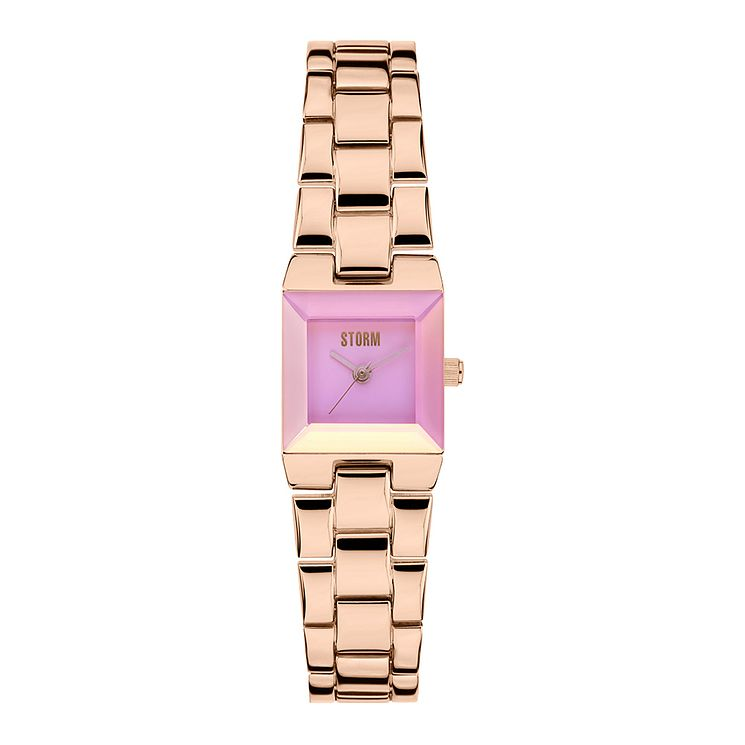 STORM Bia Ladies' Rose Gold Stainless Steel Bracelet Watch - Product number 3584240