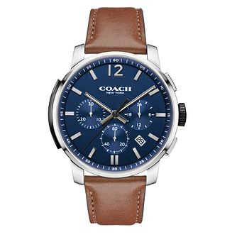 Coach Men's Stainless Steel Chronograph Strap Watch - Product number 3585077