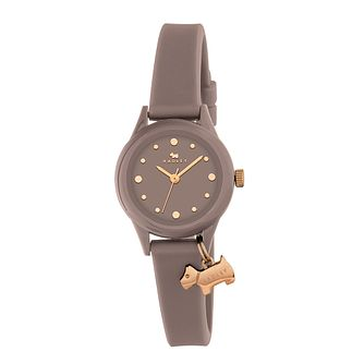 Radley Watch It Ladies' Brown Dial Silicone Strap Watch - Product number 3588904