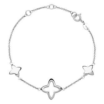 Links of London Ladies' Silver Cutout Star Bracelet - Product number 3589382