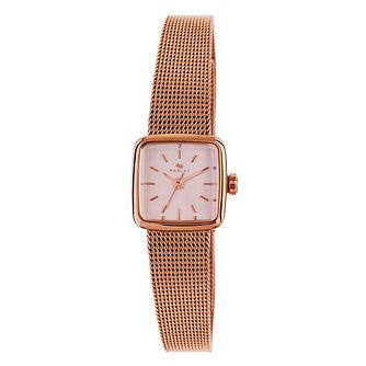 Radley Ladies' Rose Gold-Plated Mesh Bracelet Watch - Product number 3589838