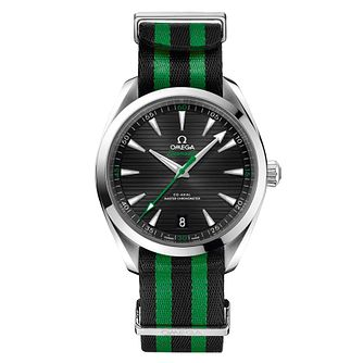 Omega Special Edition Aqua Terra Garcia Men's Green Watch - Product number 3598802