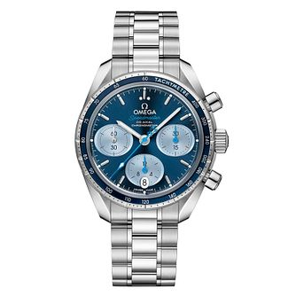 Omega Speedmaster Men's Stainless Steel Blue Dial Watch - Product number 3598845