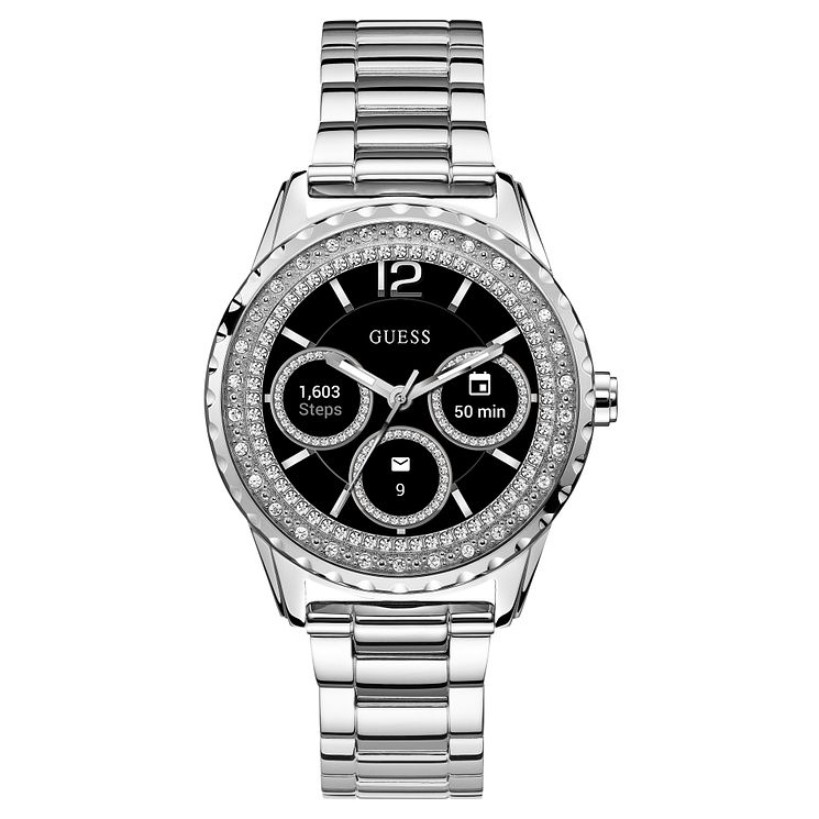 Guess Connect Ladies' Stainless Steel Bracelet Smartwatch - Product number 3621804
