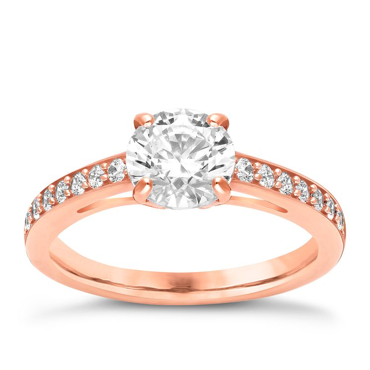 Swarovski Attract rose gold-plated ring size L - Product number 3626733