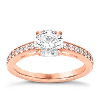 Swarovski Attract rose gold-plated ring size P - Product number 3626741
