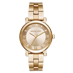 Michael Kors Norie Ladies' Yellow Gold Tone Bracelet Watch - Product number 3630595
