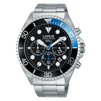 Lorus Men's Sports Stainless Steel Bracelet Watch - Product number 3654281