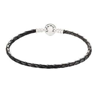 Chamilia Black Metallic Braided Leather Bracelet - Product number 3667731