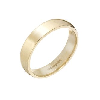 9ct Yellow Gold 5mm Super Heavy Court Ring - Product number 3671623