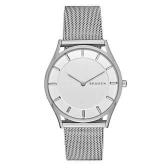 Skagen Ladies' Stainless Steel Mesh Bracelet Watch - Product number 3690679