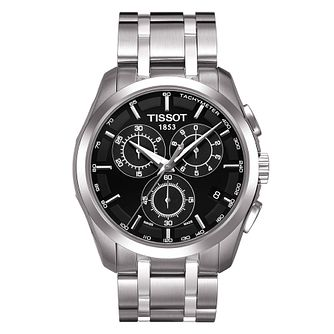 Tissot Couturier men's stainless steel bracelet watch - Product number 3693031