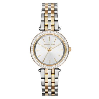 Michael Kors Ladies' Two Colour Stone Set Bracelet Watch - Product number 3707326