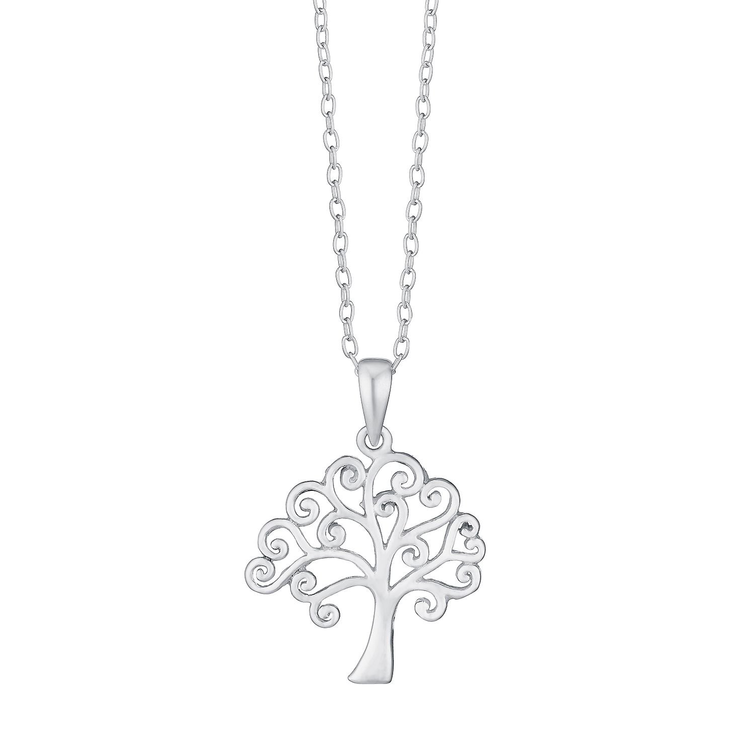 co circle of tree in sterling necklace shane m p silver necklaces life
