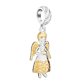 Chamilia Sterling Silver & Gold Plated Holiday Angel Bead - Product number 3727874