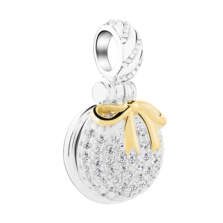 Chamilia Silver & Gold Plated Inner Peace Ornament Bead - Product number 3727882