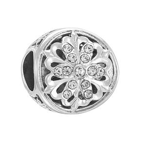 Chamilia Silver Luminous Accent Swarovski Crystal Bead - Product number 3731871