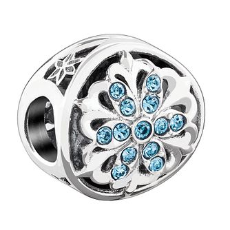 Chamilia Silver Luminous Accent Swarovski Indicolite Bead - Product number 3731898