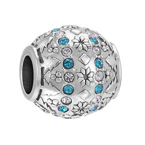 Chamilia Sterling Silver Fair Isle Clear Swarovski Bead - Product number 3731901