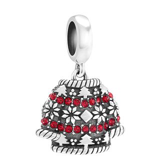 Chamilia Sterling Silver Holiday Jumper Swarovski Bead - Product number 3731960