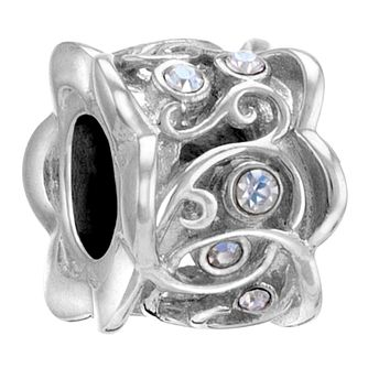 Chamilia Ribbons sterling silver & Swarovski charm - Product number 3732606
