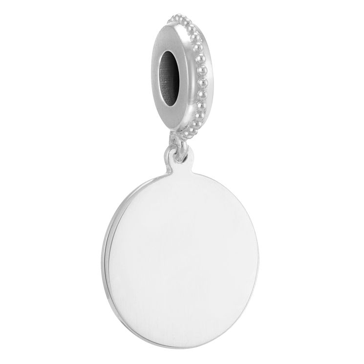 Chamilia sterling silver engravable disc charm - Product number 3732630