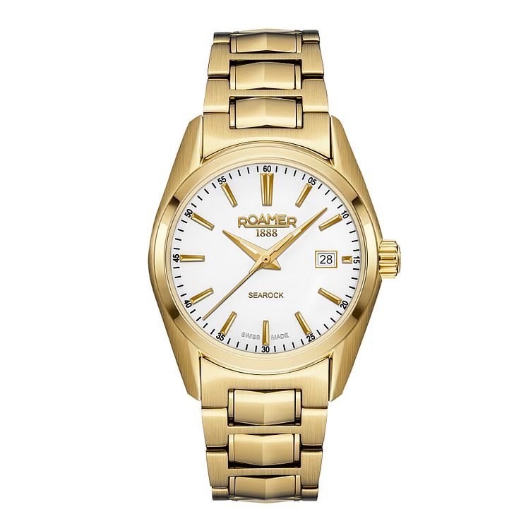 Roamer Searock Ladies' Gold-plated Bracelet Watch - Product number 3732738