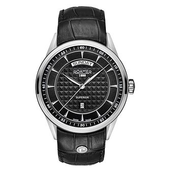 Roamer Superior Men's Stainless Steel Strap Watch - Product number 3732800